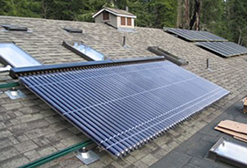 adams, huntington beach Solar water heater