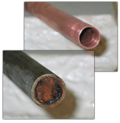 1 mayflower village fountain valley copper repipe 714 for Plastic vs copper water pipes