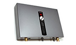 OLIVE, ORANGE TANKLESS WATER HEATER