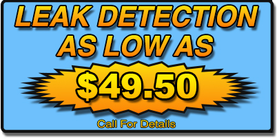 Leak Detection in san gabriel