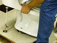 california toilet installation and replacement