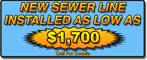 New Sewer Line in valle vista, hemet