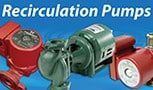 Buckeye hot water circulation pumps