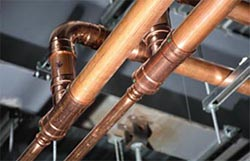 plumbing copper repipe