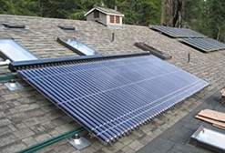 SANTAN VILLAGE Solar Water Heater