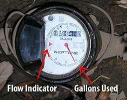 Rancho Cucamonga water meter leak