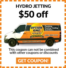 Hydro Jetting - $50 off