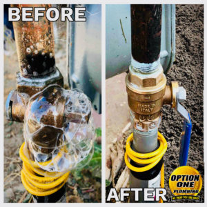 Before and After Gas Valve