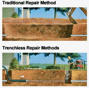 trenchless-repair-vs-traditional-repair-main-replacement