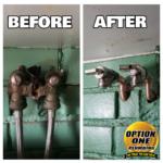 B&A Hot & Cold valves